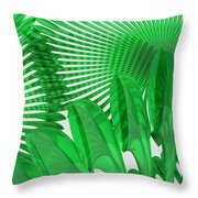 Margaritas Verdes Throw Pillow