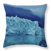 Margerie Glacier Beauty Throw Pillow