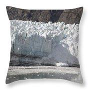 Margerie Glacier Throw Pillow