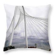 Marget Hunt Bridge Throw Pillow