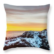 Marginal Way Day Break Throw Pillow