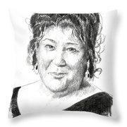 Margo Martindale Throw Pillow