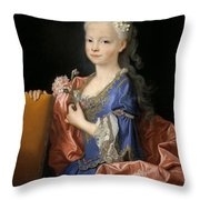 Maria Anna Victoria Of Bourbon. The Future Queen Of Portugal Throw Pillow