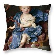 Maria Antonia Fernanda De Borbon. Infanta Of Spain. Future Queen Of Sardinia Throw Pillow