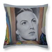 Maria Bonita Throw Pillow