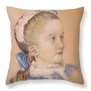 Maria Fredrika Throw Pillow