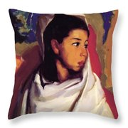 Maria Lucinda 1917 Throw Pillow