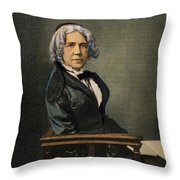 Maria Mitchell (1818-1889) Throw Pillow