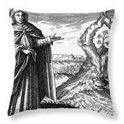 Maria The Jewess, First True Alchemist Throw Pillow