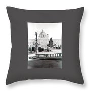 Maria Theresien Platz Throw Pillow
