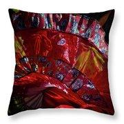 Mariachi Dancer 1 Throw Pillow