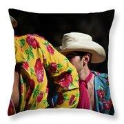 Mariachi Dancer 2 Throw Pillow