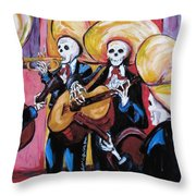 Mariachi IIi Throw Pillow