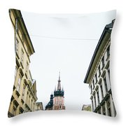 Mariacki From Florianska Throw Pillow