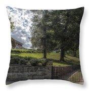 Marian Cliff Manor Throw Pillow