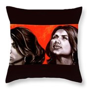 Marianns Throw Pillow