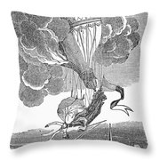 Marie Blanchard, 1819 Throw Pillow