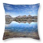 Marie Lake - John Muir Trail Throw Pillow