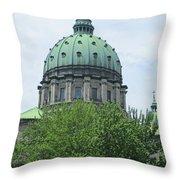 Marie Reine Du Monde 1 Throw Pillow