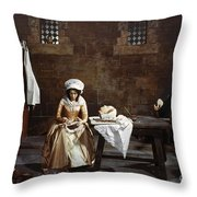 Marie Tussaud (1760-1850) Throw Pillow