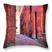 Marietta Alley Throw Pillow