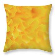 Marigold Texture Throw Pillow