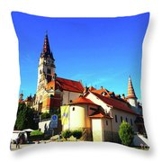 Marija Bistrica Croatia Throw Pillow