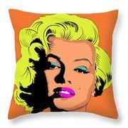 Marilyn-3 Throw Pillow