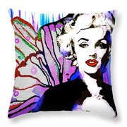 Marilyn In Love Throw Pillow