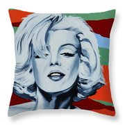 Marilyn Monroe 1 Throw Pillow