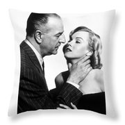Marilyn Monroe Choked Throw Pillow