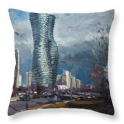 Marilyn Monroe Towers Mississauga Throw Pillow