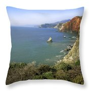 Marin Headlands 1 Throw Pillow