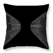 Marina City In Darkness Throw Pillow
