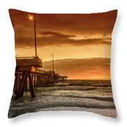 Marina Del Rey Throw Pillow