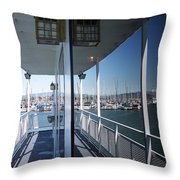 Marina Mirror Throw Pillow