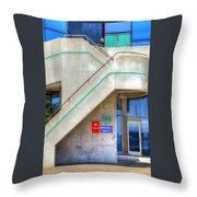 Marina Office Throw Pillow