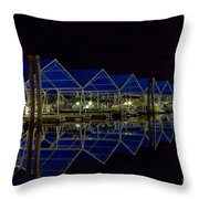 Marina Reflected Throw Pillow