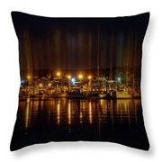 Marine At Night Throw Pillow