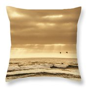 Marine Dream Throw Pillow