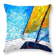 Marine Venture I Throw Pillow