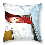 Mariners Flag Throw Pillow