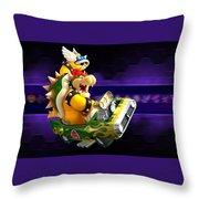 Mario Kart Wii Throw Pillow