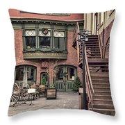 Marion Hose Bar Throw Pillow