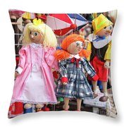 Marionettes 1940 Throw Pillow
