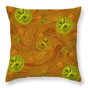 Mariposa In Colors Throw Pillow