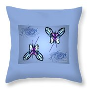 Mariposas Throw Pillow