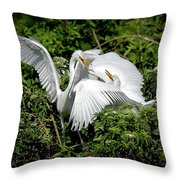 Marital Bliss Throw Pillow