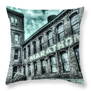 Marithon Car Manufacturing Facility In Nashville Throw Pillow