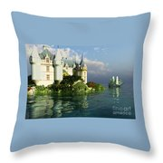 Maritime Throw Pillow